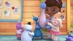 Stuffy and lambie lift bronty