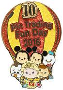 HKDL Tsum Tsum Trading Day Pin 19