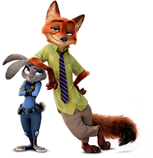 Red cars disney wiki fandom powered by wikia - Image Nick And Judy Armrest Png Disney Wiki Fandom