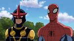 Spider-Man and Ultimate Nova 1 USWW