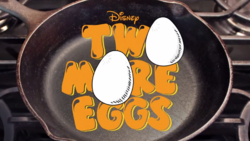 Two more eggs logo