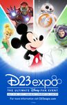 D23 Expo 2017 Poster