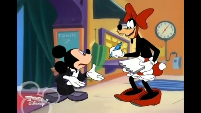 File:Goofy dressed up as Minnie.PNG