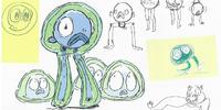 Buff Frog's Tadpoles