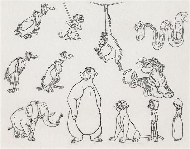 File:The Jungle Book cast model sheet.jpg