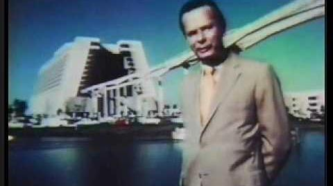 David Brinkley Talks about Disney World