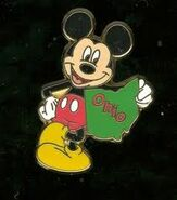 Ohio Mickey Pin