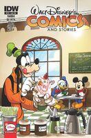 Walt Disney's Comics and Stories 721 Cover 2