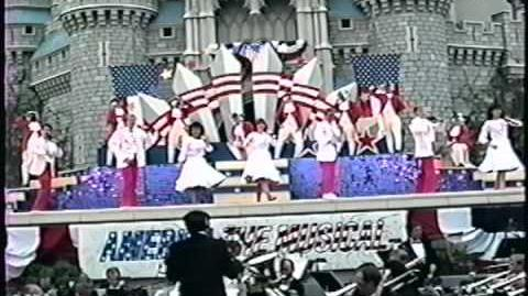 Disney World Shows America The Musical 4th July Spectacular Part 6