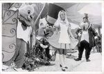 Disneyland postcard alice in wonderland days 1971 640