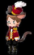 Timothy Q. Mouse Costume Kingdom Hearts χ