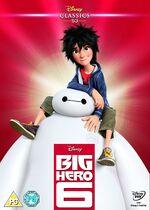 Big Hero 6 UK DVD 2015 Limited Edition slip cover