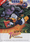 Deep Duck Trouble Starring Donald Duck Coverart
