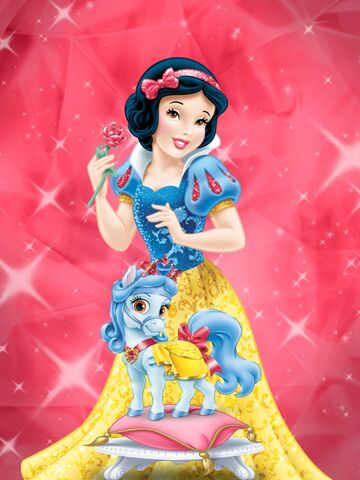 File:Princess Snow White and her horse.jpg