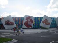 Art of Animation Hall