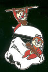 Chip Dale Ewok Pin
