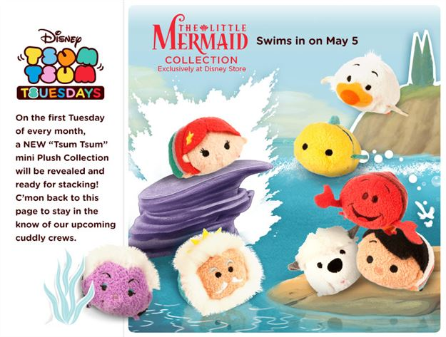 File:The Little Mermaid Tsum Tsum Tuesday.jpg