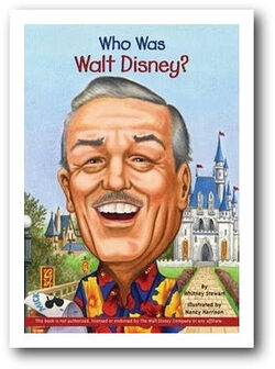 Cover who was Walt disney