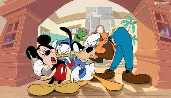 File:Mickey, Donald and Goofy.png