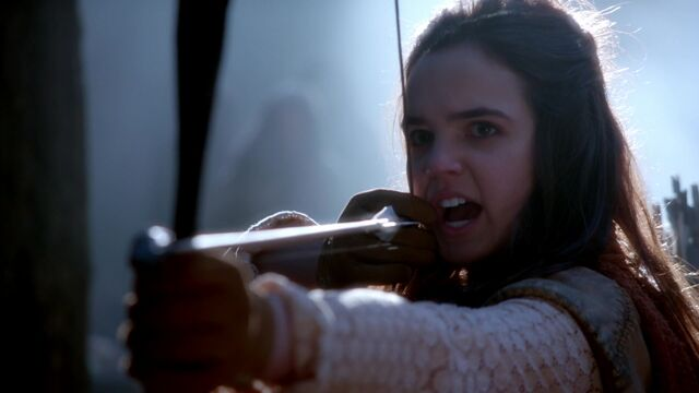 File:Once Upon a Time - 5x13 - Labor Of Love - Young Snow with Arrow.jpg
