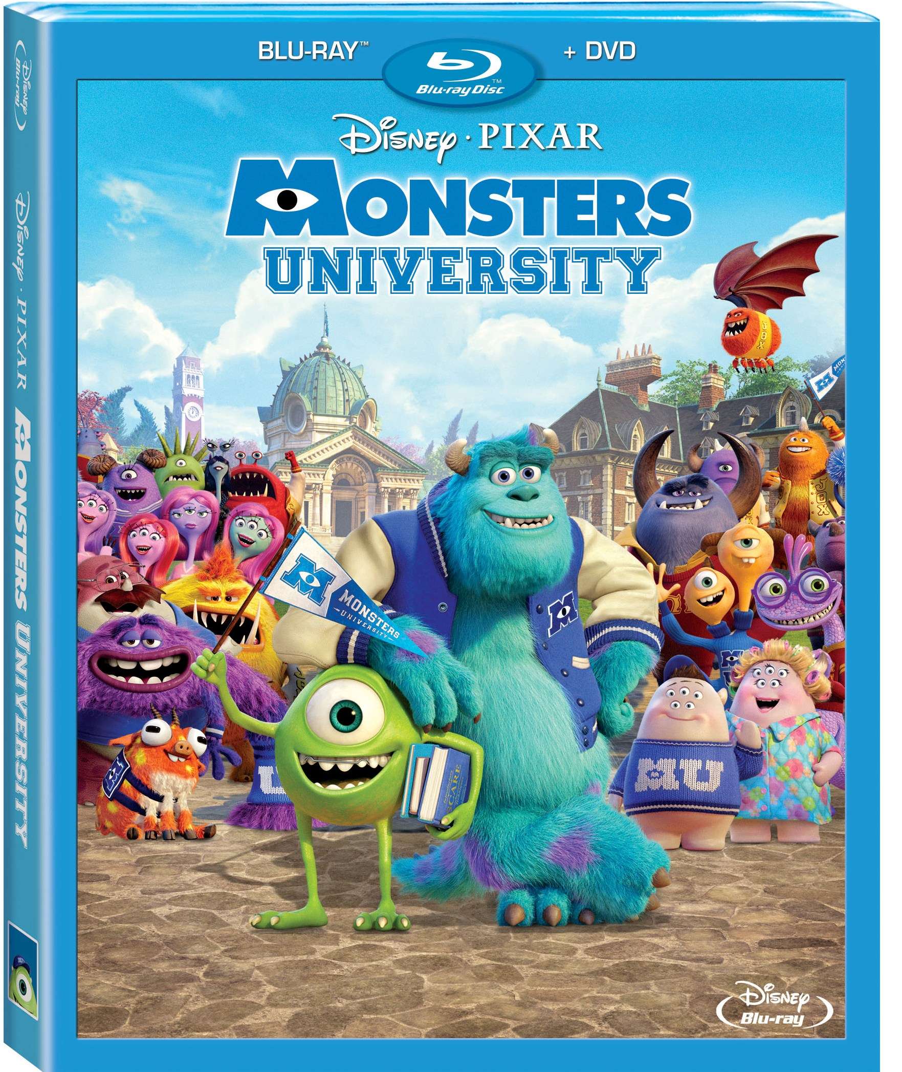 Image - Monsters-university-blu-ray-cover.jpg | Disney ...