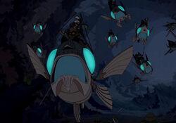Flying Stone Fish