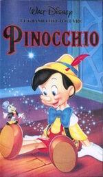 Pinocchio fr vhs 1995