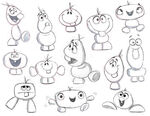 Snowgies sketches