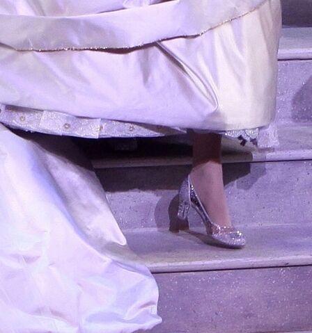 File:Cinderella's glass slipper on Broadway.jpg