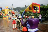 Mickey's WaterWorks Monstro