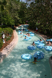 Blizzard lazy river