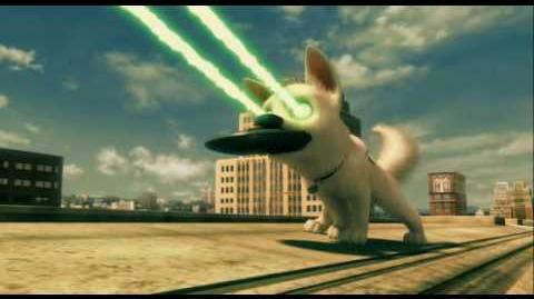 Disney Bolt - movie clip - Bolt TV Show chase scene