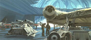 Millennium Falcon TESB concept
