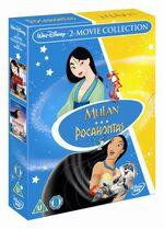 Pocahontas Mulan Box Set UK DVD