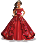 Elena ball gown render