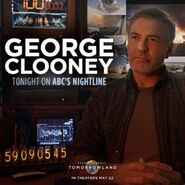 George Clooney Nightline Promo