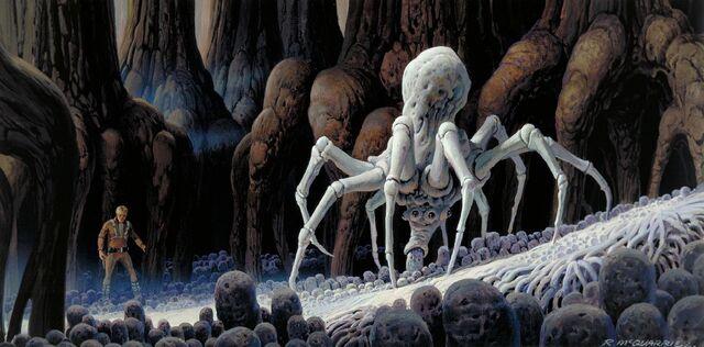 File:Ralph McQuarrie Dagobah Spider concept.jpg