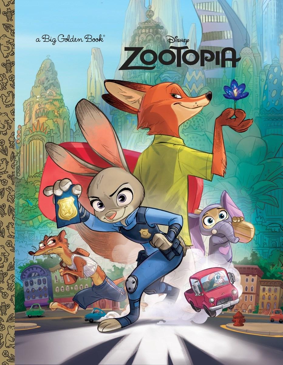 Cars Golden Book >> Zootopia Big Golden Book | Disney Wiki | FANDOM powered by Wikia