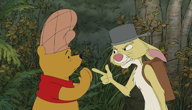 File:Rabbit Pooh we can't rest until Christopher Robin is rescued.jpg