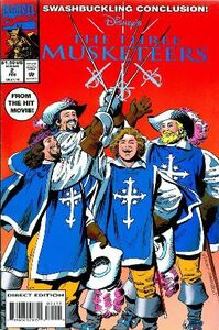 Three Musketeers Comic Vol. 2