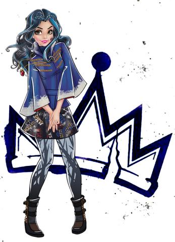 File:Descendants 2D Characters - Evie.png