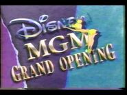 Disney MGM Grand Opening promo