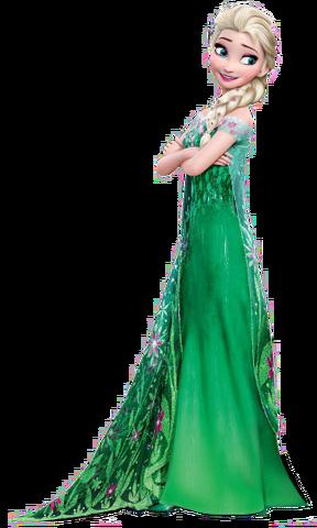 File:Elsa Frozen Fever Render.png