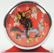 BB Wolf clock