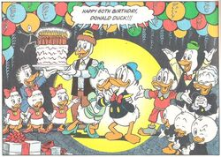 Donald's 60th birthday