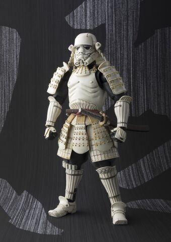 File:Ashigaru Stormtrooper Samurai figure 01.jpg