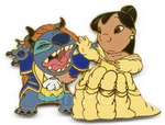 Lilo&stitch belle&beast