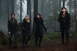 Once Upon a Time - 5x17 - Her Handsome Hero - Publicity Images - Killian, Emma, Regina and Mary Margaret