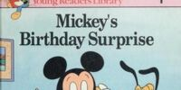 Mickey's Birthday Surprise (Mickey's Young Readers Library)