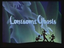 Lonesome Ghosts title card